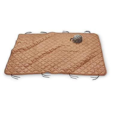Military Style Poncho Liner Blanket - Woobie (Coyote Tan)