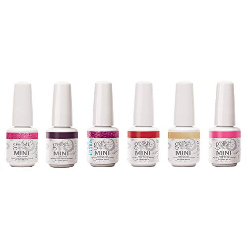 Gelish Mini Forever Fabulous Collection 9 mL Soak Off Gel Polish Set, 6 Pack