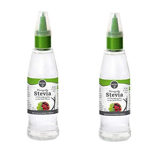 2 x borchers douceur liquide Stevia (2 x 125 ml)