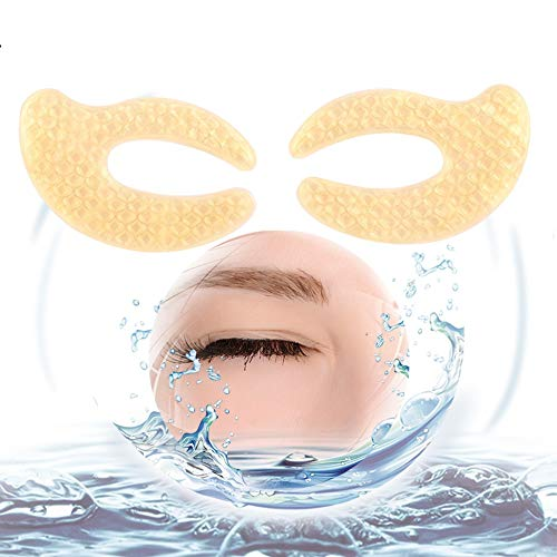 50 paia di collagene Golden Eye Pad, Crystal Collagen Eye Pads eliminare occhiaie idratante Fade fine Lines Anti-Ageing Eye Mask Gold