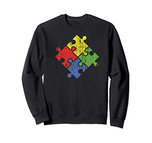 Autismo Puzzle  Vintage Sudara