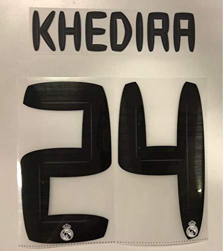 Flock Original Trikot Real Madrid 16cm - KHEDIRA 24
