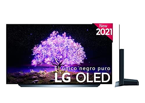 """LG - Televisión LG 4K OLED C14LB 48"""" (120 cm), SmartTV webOS 6.0, Procesador Inteligente 4K α9 Gen4 con AI, Mejor TV para Gaming, Compatible con 100% de formatos HDR, HDR Dolby Vision, Dolby Atmos"""
