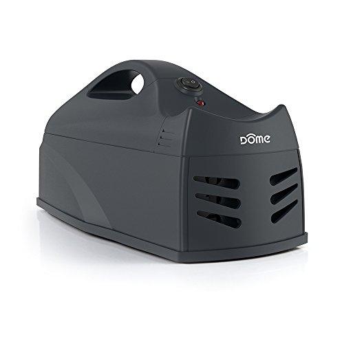 Dome Home Automation Z-Wave Smart Electronic Rat, Rodent & Mouse Trap, Black (DMMZ1)