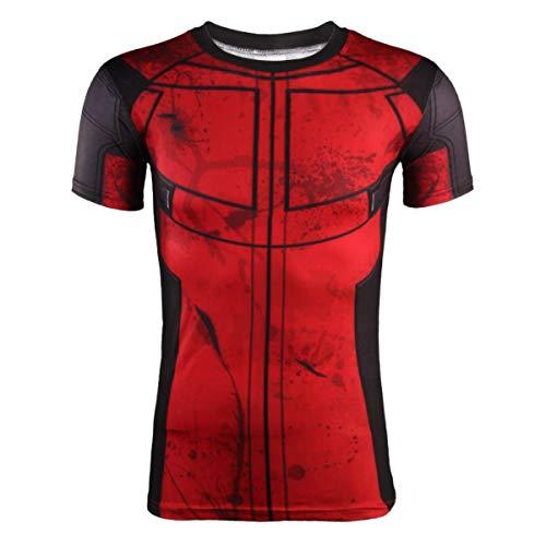 Tree-es-Life Camiseta Corta Divertida a la Moda de Verano, Camisetas 3D para Hombre, Camisetas de Gimnasio, Camiseta de Grappig, Camiseta de superhéroe para Cosplay, Camisetas Masculinas