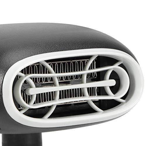 Pwshymi Descongelador de calefacción Conveniente y práctico Calentador de automóvil Descongelador de automóvil Alta Temperatura para Ventana de automóvil(Purification Black, Pisa Leaning Tower Type)