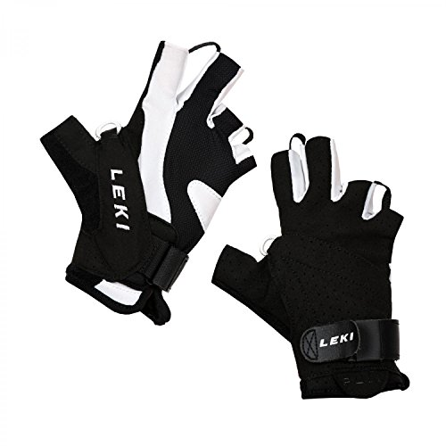 LEKI Nordic Walking Handschuhe schwarz 6