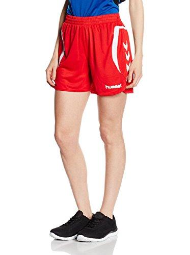 Hummel Shorts Team Player rot/weiß XS