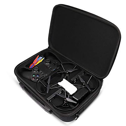 Funda De Transporte Portátil para DJI Tello Drone y Accesorios almacenamiento de protección bolsa de hombro llevar maleta para Drone- Ideal para Viajes y Almacenamiento en Casa