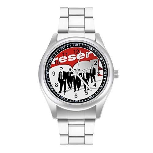 Reservoir Dogs Poster 貯水池犬ポスター メンズ腕時計 クォーツ時計 ビジネス 多機能 ビジネス スポーツ 男女兼用 ステンレス クォーツ クオーツク男性時計