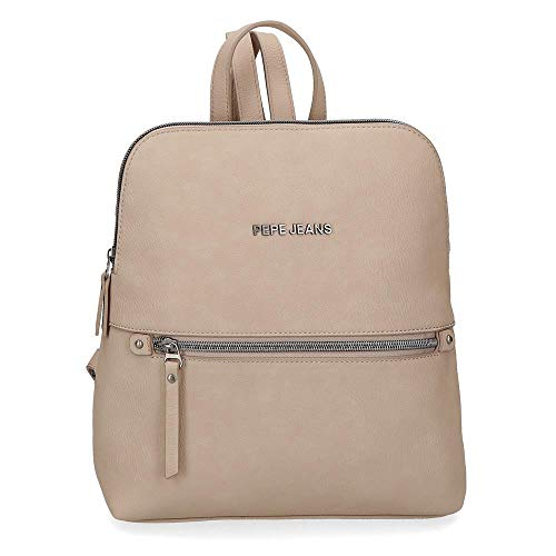 Pepe Jeans 7042223  Mochila Casual Mujeres  Taupe  Media