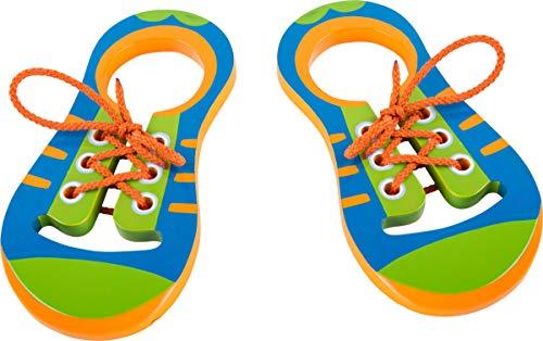 Small Foot - 10152 - Chaussures en bois à lacer