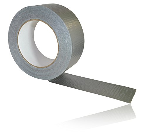 50 Metres x 50mm/ 2 Roll Gaffa Gaffer Duct Waterproof Cloth Tape - GREY by CDL Micro