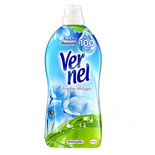 Vernel Frischer Morgen, Weichspüler, 396 (6 x 66) Waschladungen, für einen langanhaltenden Duft