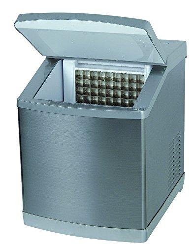 4046 ICEAGE Eismaschine • Eiswürfelbereiter • Eiswürfelmaschine • klare rechteckige Eiswürfel • 3 Würfelgrößen • manuell oder Anschluß an Wasserleitung