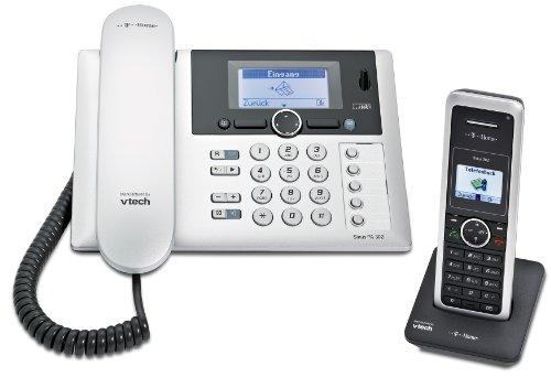 Deutsche Telekom T-Home Sinus PA302i plus 1 Schnurlostelefon schwarz/silber