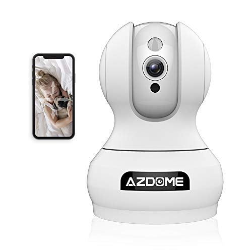 WiFi IP Camera - AZDOME [Alexa Echo] 1080P(2 Mega-Pixels) Security Camera,...