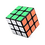 HJXDtech - 3x3x3, SuLong Girando Speed Cube Facile Per Brain Training Game (Nero)