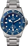 Tudor Pelagos 25600TB orologio da uomo quadrante blu w/cassa e bracciale in titanio