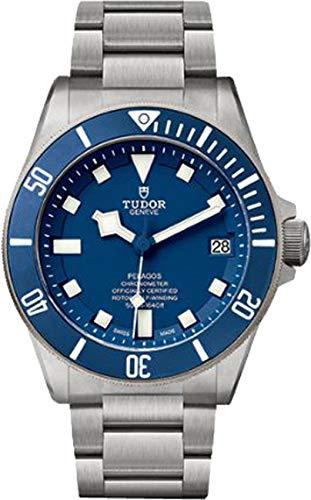 Tudor Pelagos 25600TB - Orologio da uomo con quadrante blu, cassa in titanio e cinturino