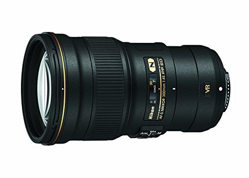 Nikon AF-S FX NIKKOR 300 mm f/4E PF ED lente de redução de vibração com foco automático para câmeras Nikon DSLR