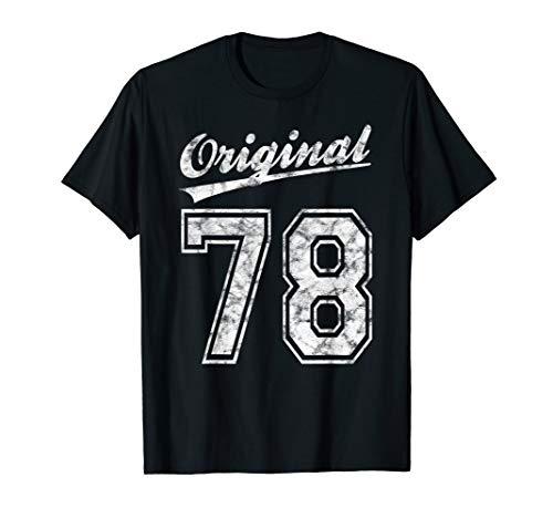 1978 Geburtstag 42 Jahre Original 78 Jahrgang 1978 Geschenk T-Shirt
