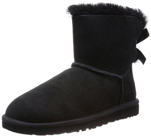 Ugg Australia  Mini Bailey Bow,  Damen Stiefel, Schwarz (Black), 36 EU (3.5 UK)