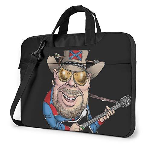 Dfmdfng Hank Williams Jr 13'- 14-15.6' inch Notebook Laptop Shoulder Messenger Briefcase Case 15.6 inch