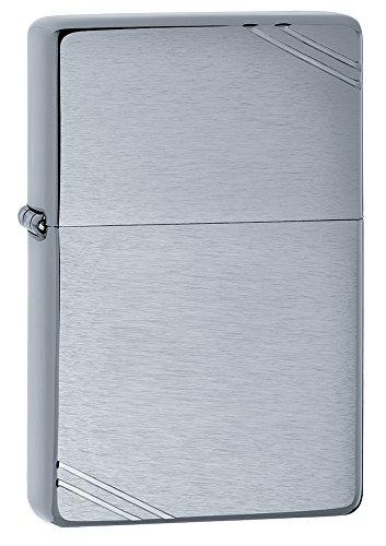 Zippo Accendino a Benzina Lighter, Ottone, Silver, One Size