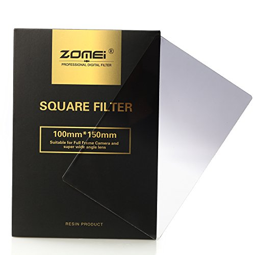 Zomei Nd Square Gradual Grey Colour Lens Filter 100x150mm Filter System -Nd4