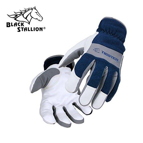 TIGster Premium Flame Resistant Snug Fit Kidskin TIG Welding Gloves - Small