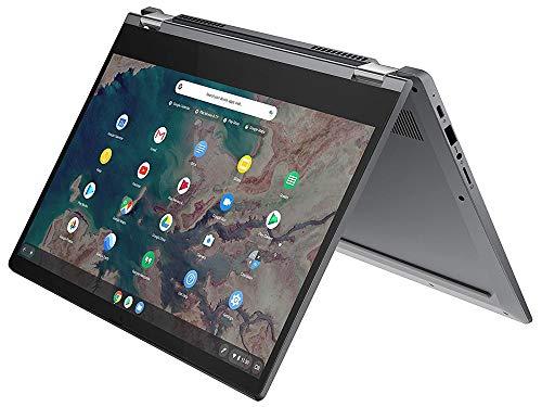 Lenovo Chromebook Flex 5 Laptop, 13 Inch FHD Touch Display, Intel Core i3-10110U Processor, 4GB RAM, 192GB Storage (64GB eMMC + 128GB MicroSD), Webcam, WiFi, Bluetooth,+ MicroSD