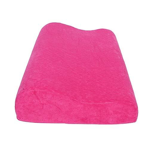 Almohada extraíble, almohada roja Rebote lento Presión de cuerpo Memoria de espuma de espuma Cabeza de algodón