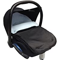Saco para silla de cochecito de bebé, cómodo y acogedor, compatible con Maxi-Cosi Cabrio, de color azul claro
