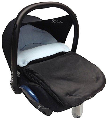 Autositz Fußsack/COSY TOES kompatibel mit Maxi Cosi Pebble hellblau