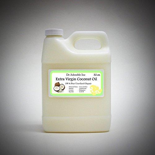 Extra Virgin Coconut Oil 32 Oz/1 Quart