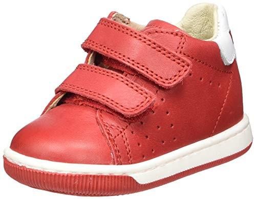 Naturino Falcotto Adam VL, Chaussures de Gymnastique Mixte bébé, Rouge (Rosso 0h05), 18 EU