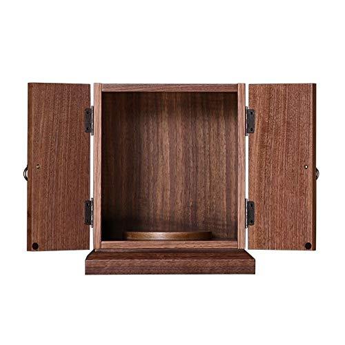 """12"""" Altar Kabinett Zen-Schrein Enshrined Tabelle Kabinett Aufopferungs Supplies, Geeignet for Place Your Spiritual Dekoration"""