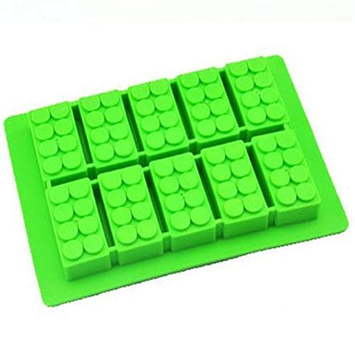 Ice Maker Trays Ice Maker Mold Voor Babyvoeding Cool Stapelbaar Cocktail Siliconen Voor Zomer Food-Grade Gift Whiskey green