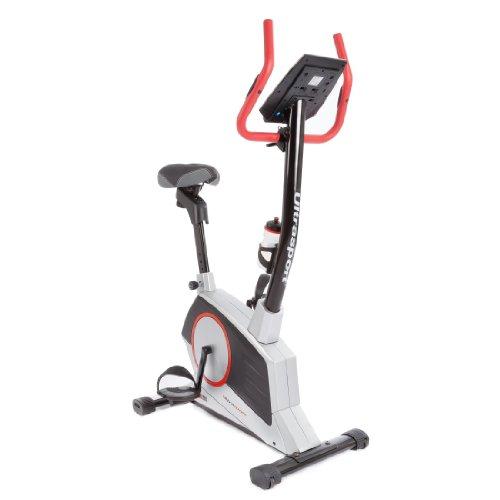 Ultrasport Home Trainer Racer 1000A, Cyclette Con Sensori Delle Pulsazioni E Borraccia, Con Display Multifunzionale 12 Programmi E 16 Livelli Di Resistenza Ergometro Unisex Adulto, 1000 A
