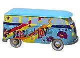 Biscuiterie de l'Abbaye DOP Galletas de mantequilla Isigny en lata decorada 'Hippies' Van - 1 x 200 Gramos