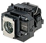 Supermait EP57 A+ Calidad Lámpara Bulbo de Repuesto para proyector con Carcasa, Compatible con Elplp57, Adecuada para EB-440W EB-450W EB-450Wi EB-455Wi EB-460 EB-460i EB-465i EB-450We EB-460e