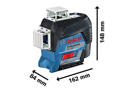 Bosch Professional Linienlaser GLL 3-80 C & Empfänger Set - 7