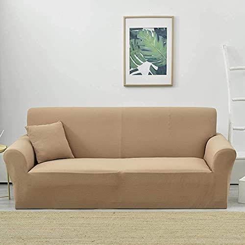HZYDD Funda de sofá impermeable fácil de pasar,Funda elástica para sofá jacquard,Protector de muebles a prueba de fugas para niños, mascotas y gatos
