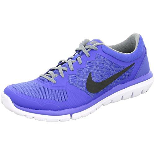Nike 724992-400, Damen Laufschuhe Copa Insignia Blau Weiß Vivid Pink