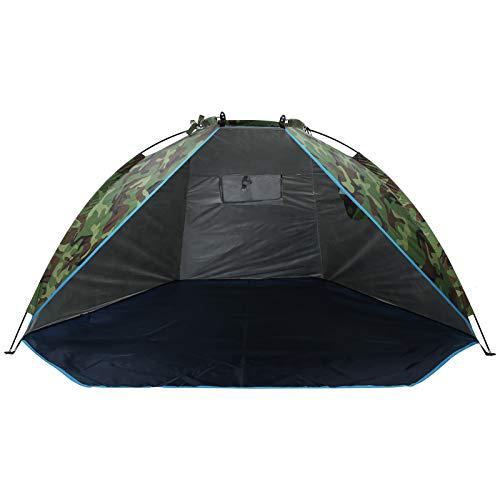Tienda al Aire Libre Tienda de campaña para 2 Personas Camuflaje Impermeable A Prueba de Viento Refugio para Acampar para montañismo Camping Pesca Picnic