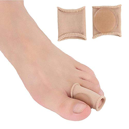 MZH Toe Cushion Tube, WooyMo Soft Gel Corn Pad Protectors Toe Tubes Sleeves For Cushions Corns, Blisters, Calluses, Toes And Fingers