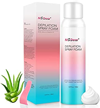 MS.Dear Hair Removal Spray Foam, 5.1 Oz