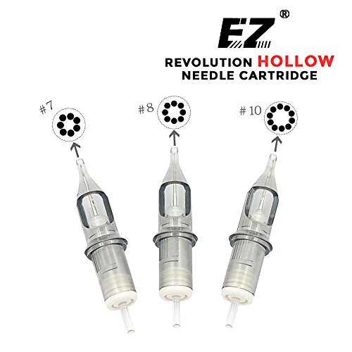 EZTAT2 New EZ Revolution Cartridge Tattoo Needles Round Liner Super Tight X-Taper