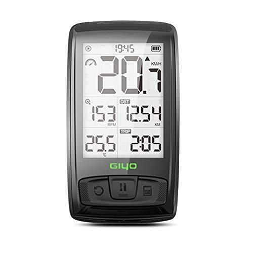 Blankspace Medidor de código de conducción Bluetooth inalámbrico coche de carretera velocímetro odómetro luz de fondo impermeable suministros de conducción